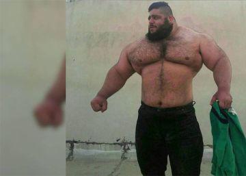 El 'Hulk' iraní inicia una campaña en Instagram para ser luchador de la WWE