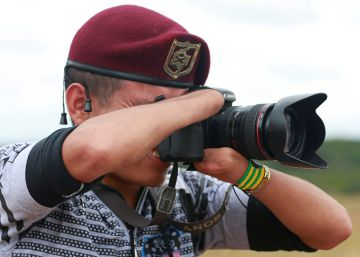 El fotógrafo sin manos de las FARC