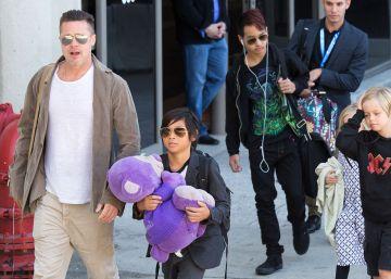 La relación de Brad Pitt con sus hijos, en cuestión