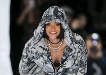 Puma aterriza en la pasarela de París de la mano de Rihanna