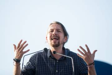 Podemos chief Pablo Iglesias is dealing with internal divisions of his own.