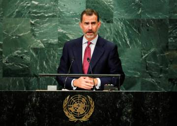 Spanish king's UN speech provides political ammunition back home