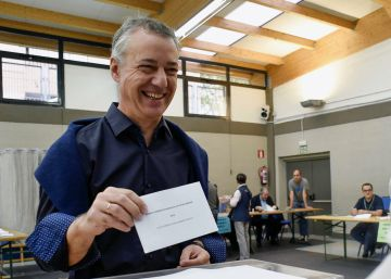 Las elecciones vascas 2016, en imágenes