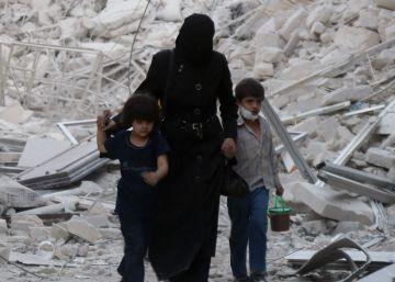 Dilúvio de fogo em Aleppo