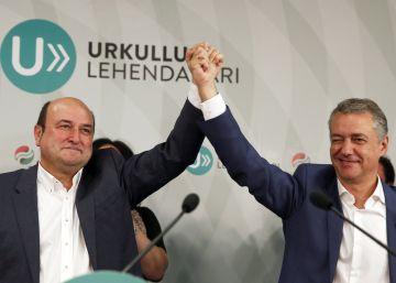 Los resultados de las elecciones vascas 2016, en imágenes