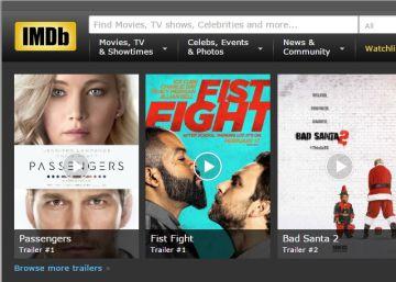 Los actores podrán borrar su edad de la web IMDb