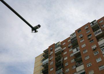 Controles en los semáforos de Madrid