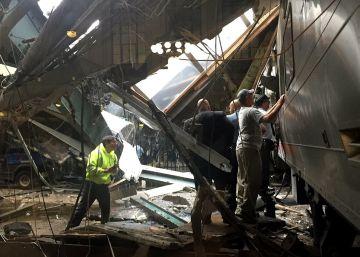 Accidente de tren en Nueva Jersey, en imágenes