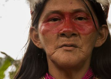 Mujeres Waorani en busca de la paz en la Amazonia ecuatoriana