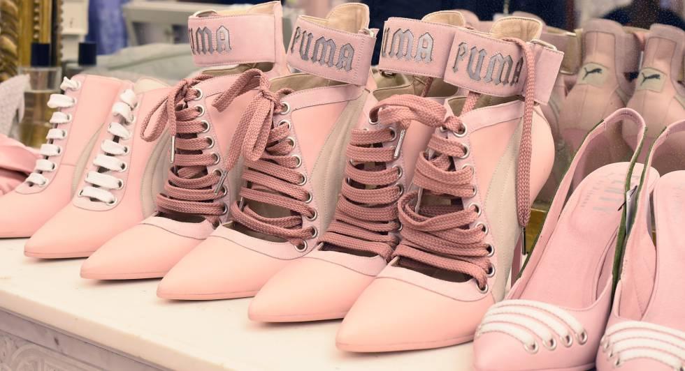 Zapatillas diseñadas por Rihanna para Puma.