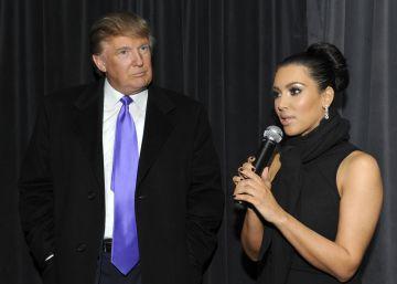 Trump también criticó el cuerpo de Kim Kardashian
