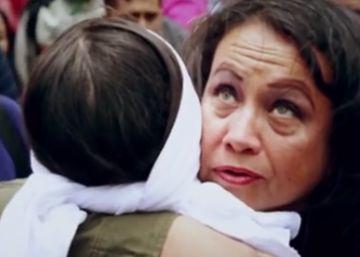 The former FARC guerrilla seeking forgiveness through hugs