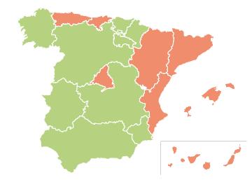 Nulidades, separaciones y divorcios en España