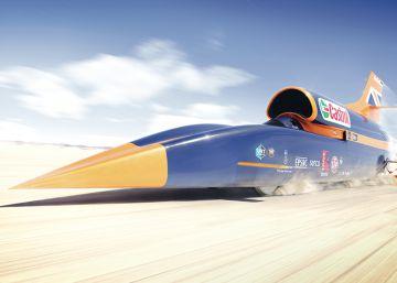 Un coche supersónico pretende alzanzar los 1.600 km/h