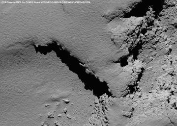 'Rosetta' cumple su destino y muere en su cometa