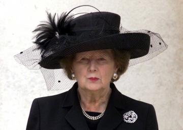 El armario de Margaret Thatcher llega al museo
