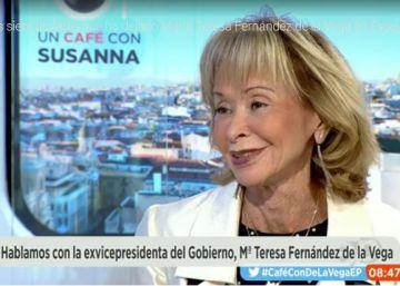 La nueva imagen de María Teresa Fernández de la Vega