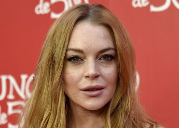 Lindsay Lohan pierde medio dedo en un accidente de barco