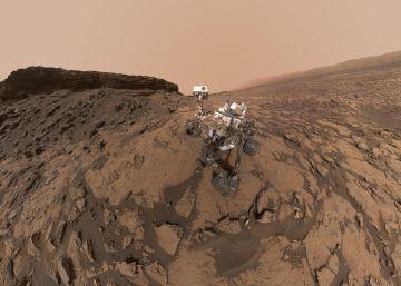 El impactante selfi de 'Curiosity' en Marte