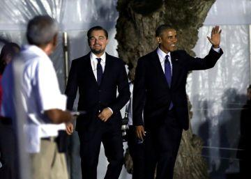 Obama y DiCaprio unen fuerzas por el cambio climático
