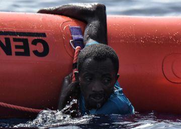 Miles de migrantes rescatados en el Mediterráneo