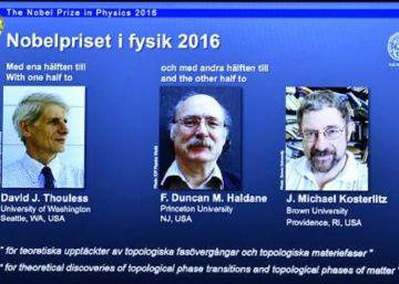 Un Nobel 'de plastilina' para entender el comportamiento de la materia