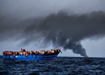 Caos junto a Europa