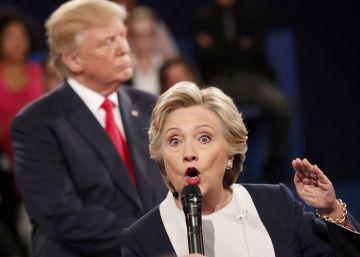 Segundo debate presidencial de Estados Unidos entre Hillary Clinton y Donald Trump