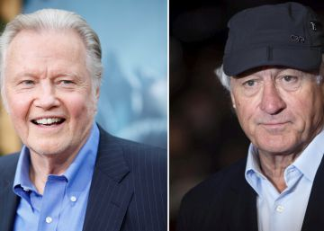 Robert de Niro y Jon Voight se pelean por Donald Trump