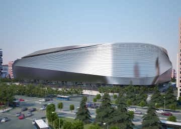 El nuevo estadio Santiago Bernabéu