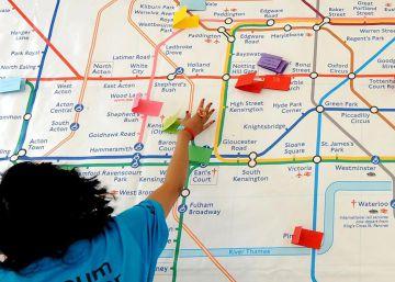 La inteligencia artificial navega por el metro de Londres