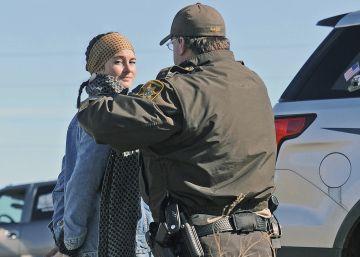 Una actriz de 'Divergente', detenida en una protesta contra un oleoducto
