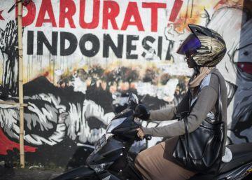 Grafitis para denunciar la pobreza en Surabaya
