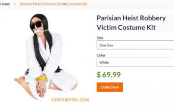 El disfraz de Halloween de Kim Kardashian que ha enfurecido a Internet