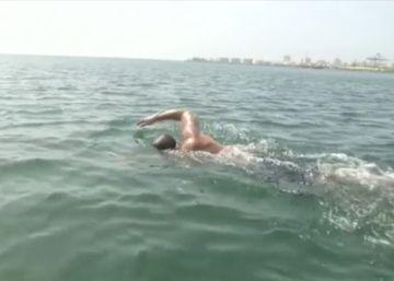 De Senegal a Brasil, a nado