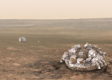 Europa intenta aterrizar en Marte en busca de vida