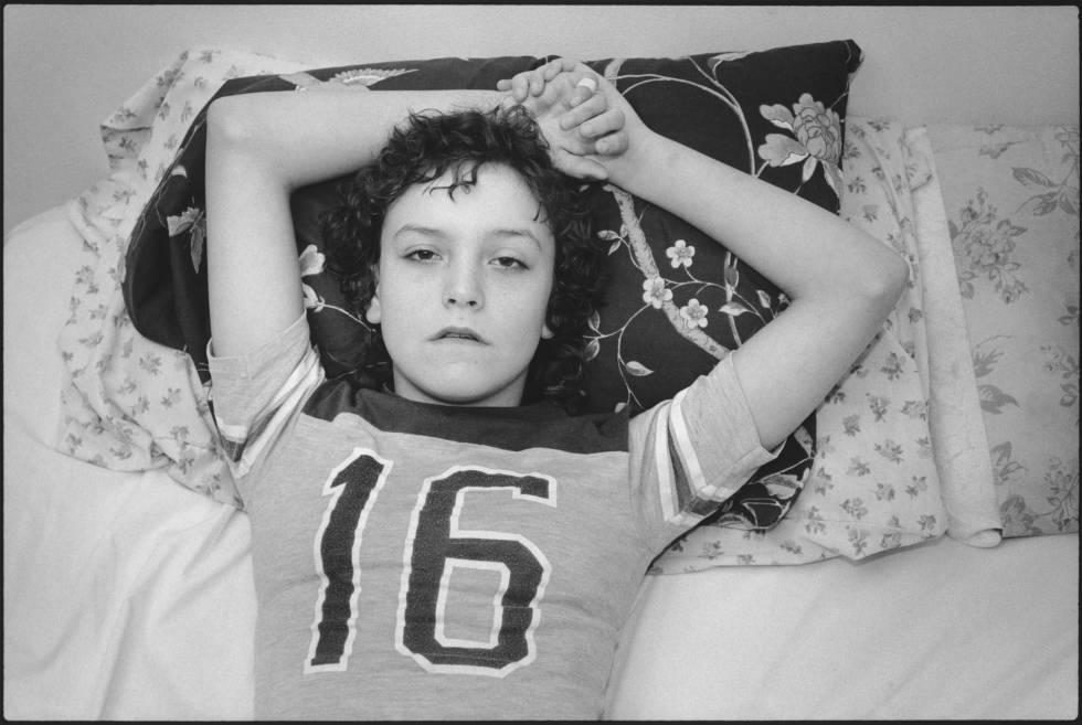 Tiny, con 13 años, en 1983, retratada por Mary Ellen Mark en la época en la que se conocieron.