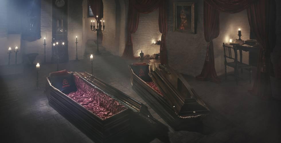 ¿Te atreves a dormir en el castillo de Drácula?