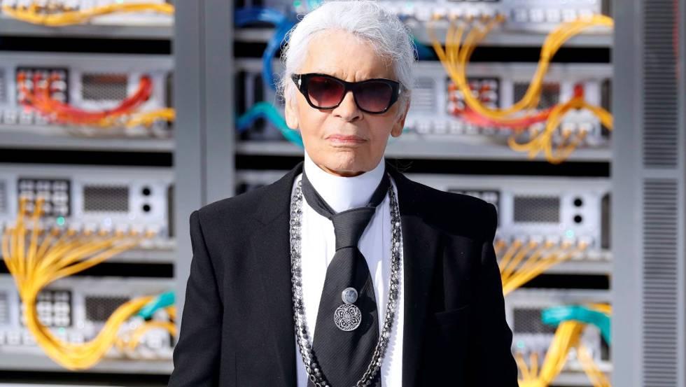Karl Lagerfeld, en la Semana de la Moda de París.rn rn