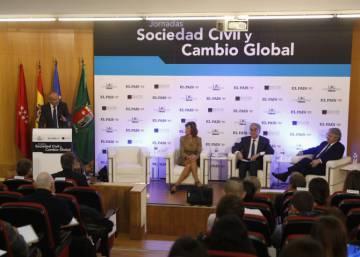 Jornadas Sociedad Civil y Cambio Global, en imágenes
