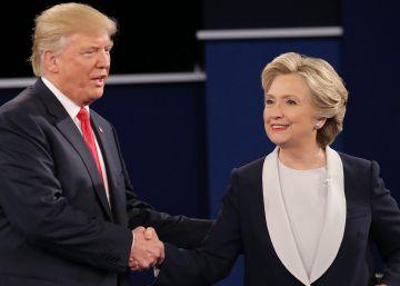 El último debate entre Clinton y Trump se ve en EL PAÍS