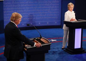 Tercer y último debate, en imágenes
