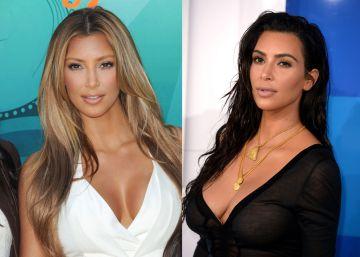 Kim Kardashian cumple 36 años. Así ha cambiado
