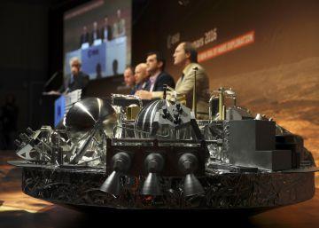 Un error informático frustró el aterrizaje en Marte de la nave de ExoMars
