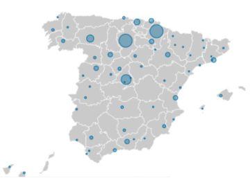 Interactivo | El lugar de origen de los misioneros españoles