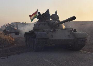 Resistencia feroz del ISIS en el frente de Bashiqa