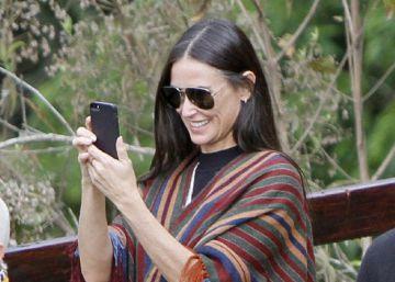 Demi Moore, de turismo con su hija por Machu Picchu