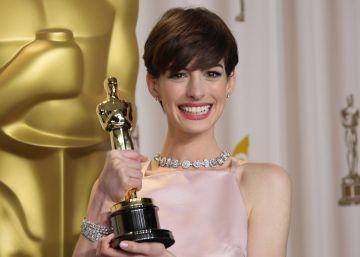 A Anne Hathaway su Oscar no la hizo feliz