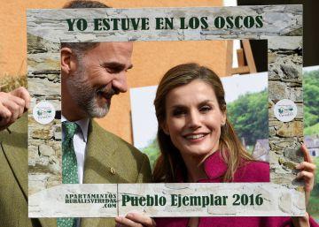 Los Oscos galardonados con el Premio al Pueblo Ejemplar 2016