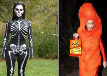 Los mejores disfraces de los famosos, del esqueleto de Kardashian a Rihanna como Tortuga Ninja